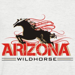 arizonawildhorse-shirt-de T-Shirts - Men's V-Neck T-Shirt