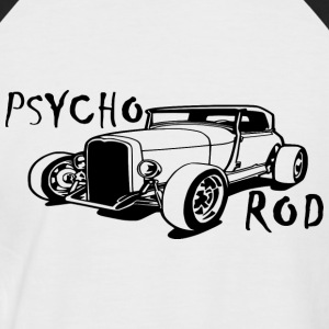 PSYCHO ROD - T-shirt baseball manches courtes Homme