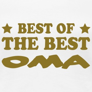 Best of the best oma T-Shirts - Frauen Premium T-Shirt