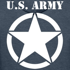 US army 04 Sweat-shirts - Sweat-shirt à capuche Premium pour hommes