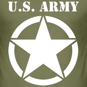 US army 04 Tee shirts - Tee shirt près du corps Homme