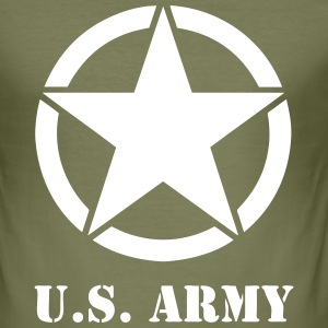 US army 03 Tee shirts - Tee shirt près du corps Homme
