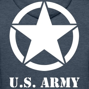 US army 03 Sweat-shirts - Sweat-shirt à capuche Premium pour hommes