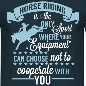 Horse riding - sport T-shirts - Mannen T-shirt