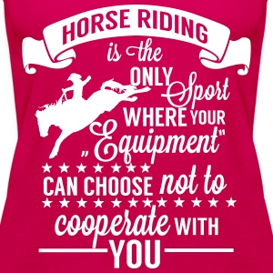 Horse riding - sport Tops - Women's Premium Tank Top