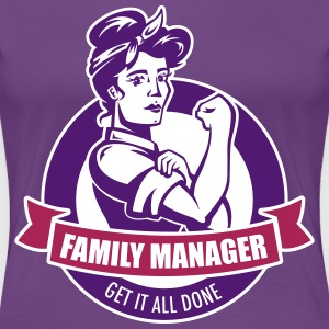 Violet familymanager Tee shirts - T-shirt Premium Femme