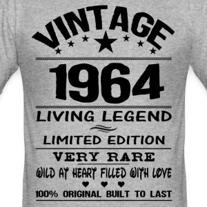 VINTAGE 1964 T-Shirts - Men's Slim Fit T-Shirt