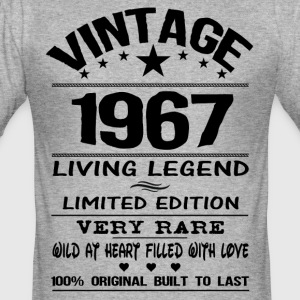 VINTAGE 1967 T-Shirts - Men's Slim Fit T-Shirt