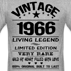 VINTAGE 1966 T-Shirts - Men's Slim Fit T-Shirt