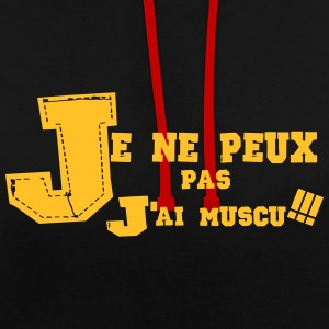 j'ai muscu 4 Sweat-shirts - Sweat-shirt contraste