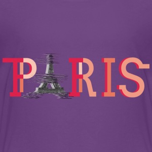 paris-eiffel-france T-shirts - Premium-T-shirt barn