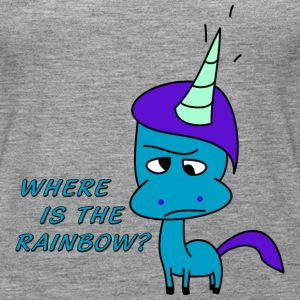 Where is the rainbow?   Tops - Camiseta de tirantes premium mujer