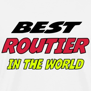 Best routier in the world T-Shirts - Men's Premium T-Shirt
