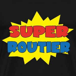 Super routier T-skjorter - Premium T-skjorte for menn