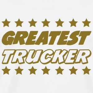 Greatest trucker T-shirts - Herre premium T-shirt