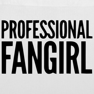 PROFESSIONAL FAN GIRL GROUPIE Bags & Backpacks - Tote Bag