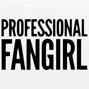 PROFESSIONAL FAN GIRL GROUPIE Bags & Backpacks - EarthPositive Tote Bag