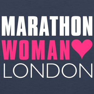 Marathon Woman London  - Men's Premium Tank Top