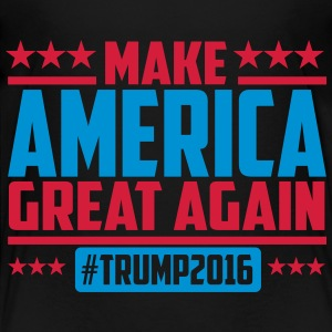 Make america great again trump 2016 Shirts - Kinderen Premium T-shirt