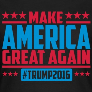 Make america great again trump 2016 T-Shirts - Women's T-Shirt