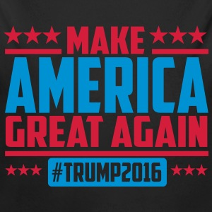 Make america great again trump 2016 Bodys Bébés - Body bébé bio manches longues