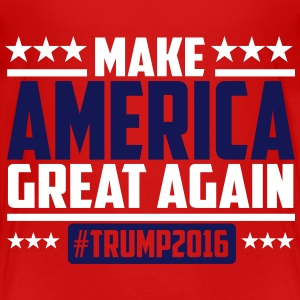 Make america great again trump 2016 T-Shirts - Kinder Premium T-Shirt