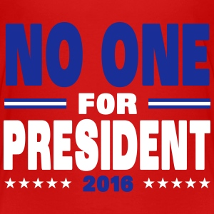 No one for president 2016 Shirts - Kinderen Premium T-shirt