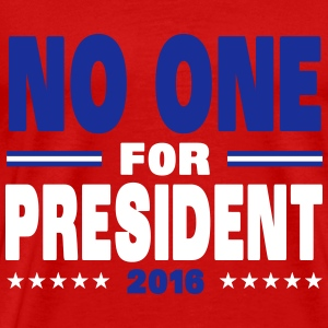 No one for president 2016 T-shirts - Premium-T-shirt herr