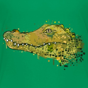 Crocodile Graffiti Shirts - Kids' Premium T-Shirt
