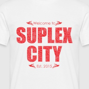 Suplex City (Mens T-Shirt) - Men's T-Shirt