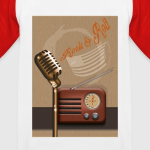 Rock 'n' roll - Kinder Baseball T-Shirt