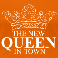 Ontwerp ~ Vrouwen koningsdagshirt The new Queen in town