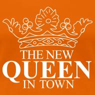 Ontwerp ~ Vrouwen koningsdagshirt The new Queen in town