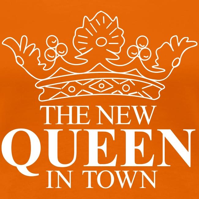 Vrouwen koningsdagshirt The new Queen in town