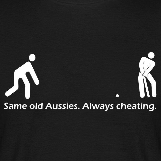 Underarm Aussie - Mens t-shirt