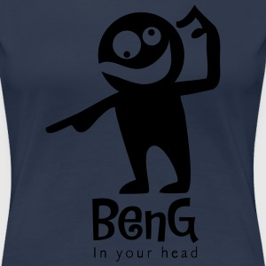 BenG in your head Tee shirts - T-shirt Premium Femme
