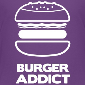 Tee shirt Premium Enfant burger addict - T-shirt Premium Enfant
