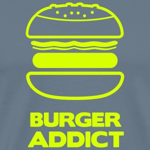 BURGER ADDICT T-Shirts - Men's Premium T-Shirt