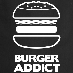 BURGER ADDICT  Aprons - Cooking Apron