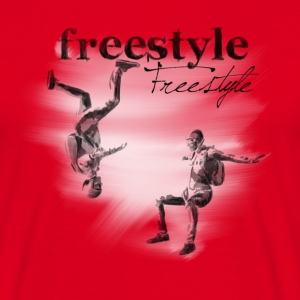 freestyle T-shirts - T-shirt herr