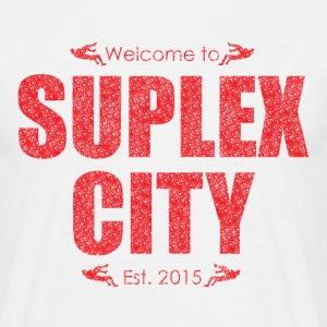 Suplex City Mens T-Shirt - Men's T-Shirt