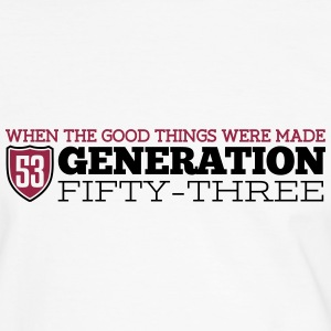 Good Generation 1953 T-shirts - Mannen contrastshirt