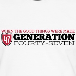 Good Generation 47 T-Shirts - Men's Ringer Shirt