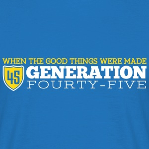 Good Generation 45 T-shirts - Mannen T-shirt