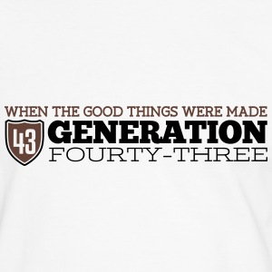 Good Generation 43 T-shirts - Kontrast-T-shirt herr