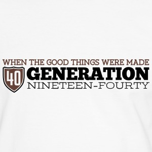 Good Generation 40 T-Shirts - Men's Ringer Shirt