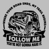 Offroad 4x4 - Jeep - Do not follow me... - Männer Premium Hoodie