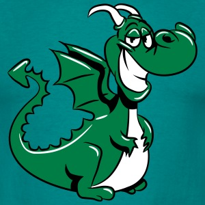 Dragon funny sweet T-Shirts - Men's T-Shirt
