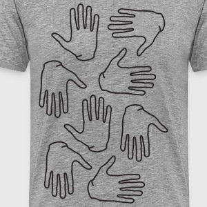 hands on thick - Men's Premium T-Shirt