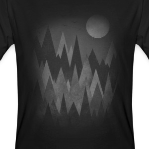 Dark Mystery Woods (Abstract Mountain Art) Tee shirts - T-shirt bio Homme